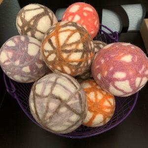 Set of 3 Handmade Eco Dryer Balls (Alpaca/Wool)